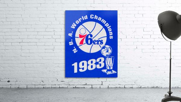 1983 NBA World Champions Philadelphia 76ers Art Reproduction 1