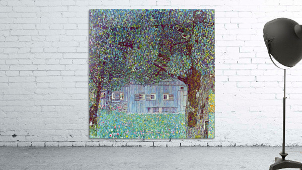 Farmhouse in Upper Austria by Klimt