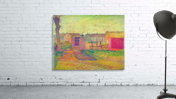 Farmyard by Delavallee