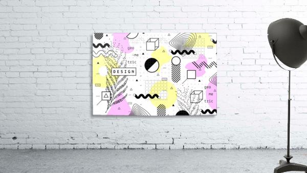 graphic design geometric background