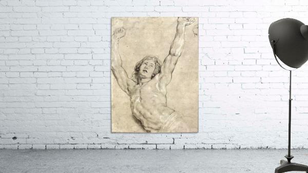 Figure Study of Christ by Rubens