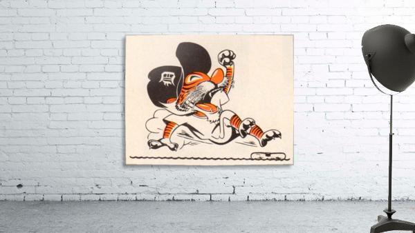 1971_Major League Baseball_Detroit Tigers_Best Sports Cartoons