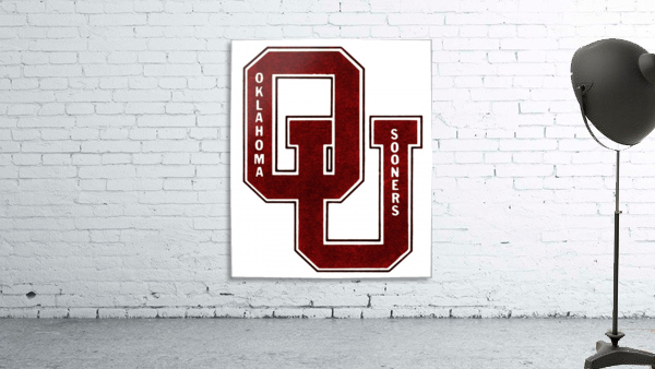 1960 OU Oklahoma Sooners art