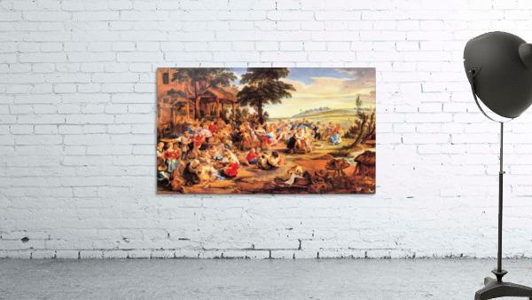Flemish Kirmes by Rubens