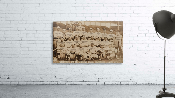 1915 Boston Red Sox Team Photo
