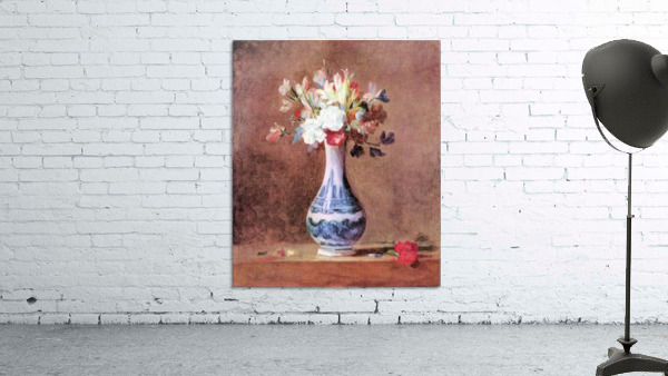 Flowers in a Vase by Jean Chardin
