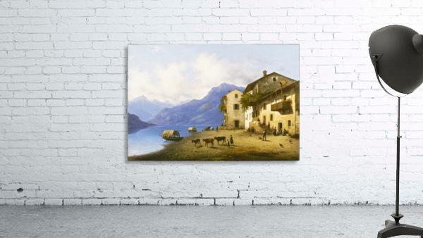 Landscape near Lake Como