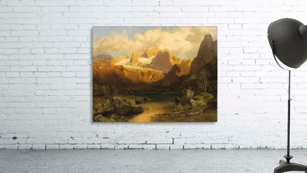 Alpiner Berggipfel
