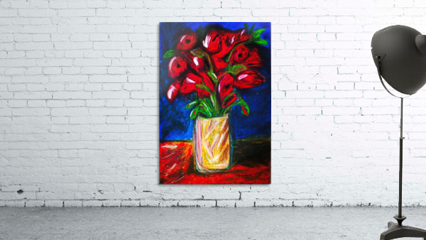 Red Cala Lilies
