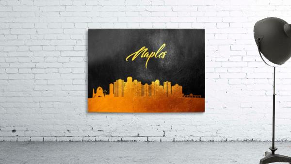 Naples Florida Skyline Wall Art