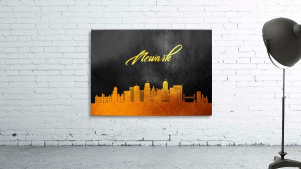 Newark New Jersey Skyline Wall Art