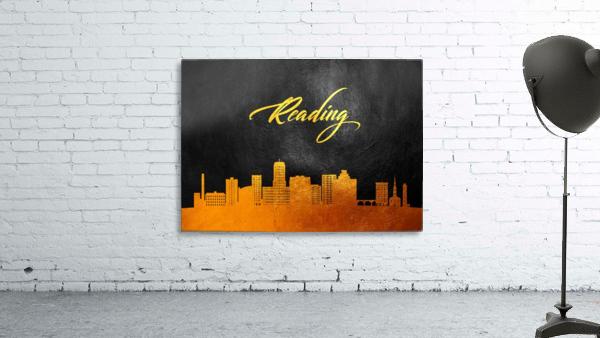 Reading Pennsylvania Skyline Wall Art