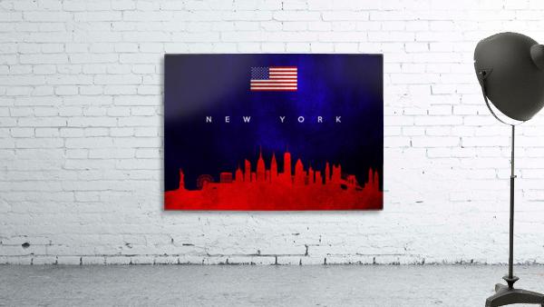 New York New York Skyline Wall Art