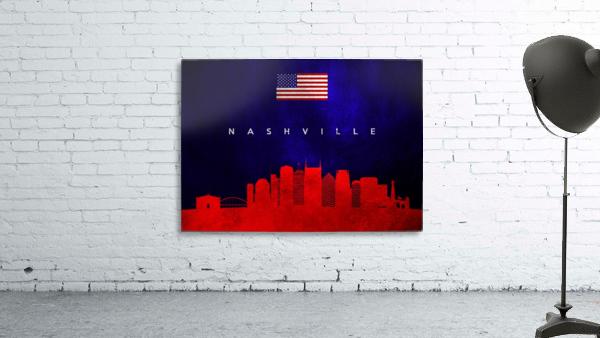 Nashville Tennessee Skyline Wall Art