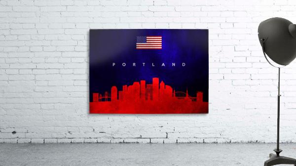 Portland Oregon Skyline Wall Art