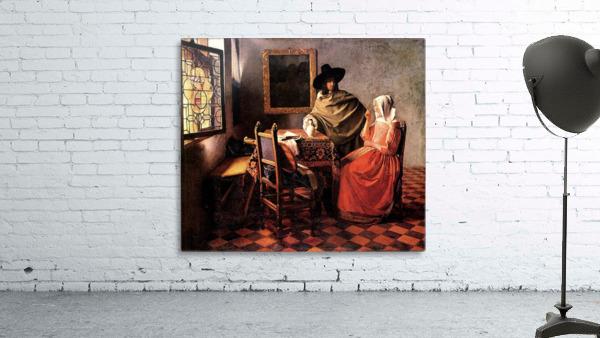 Glass of wine by Vermeer