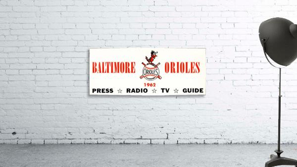 baltimore orioles press guide row one