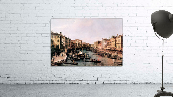 Grand Canal -2- by Canaletto