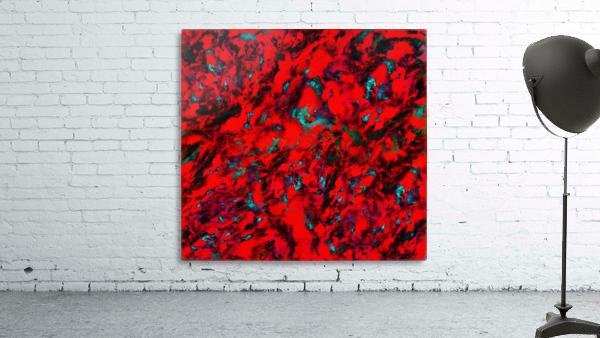 Fluttering red