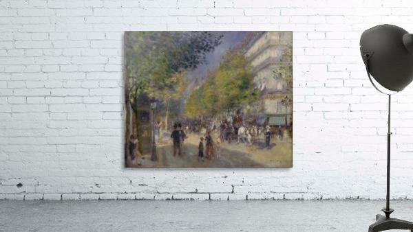 Grande Boulevards by Renoir