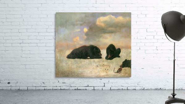 Grizzly Bears by Bierstadt