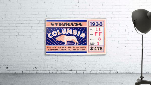 1938 Syracuse vs. Columbia