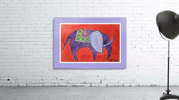 Pretty Pachyderm in frame