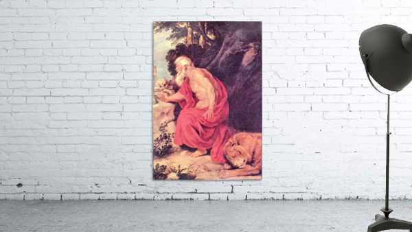 Hieronymus by Rubens
