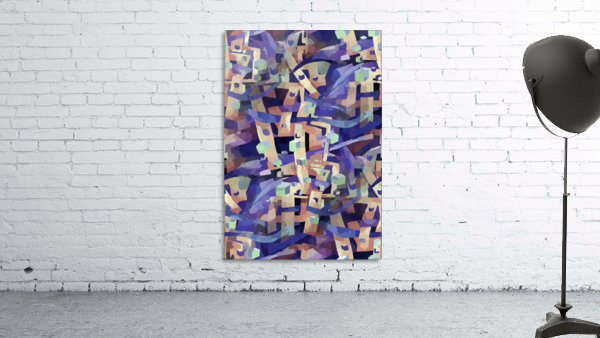 Seamless Geometric Vivid Abstract