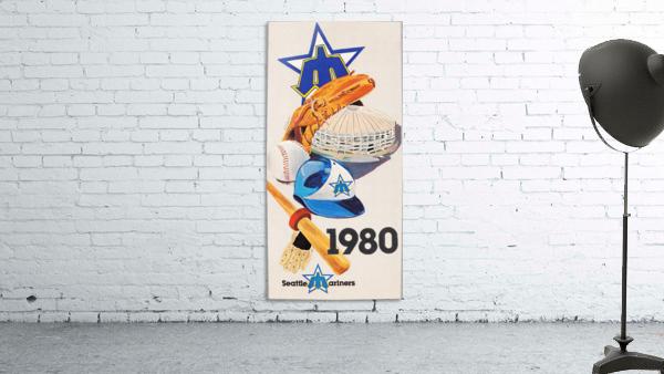 1980 Seattle Mariners Art Remix