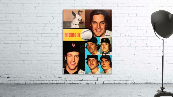 vintage mets poster tom seaver pitcher