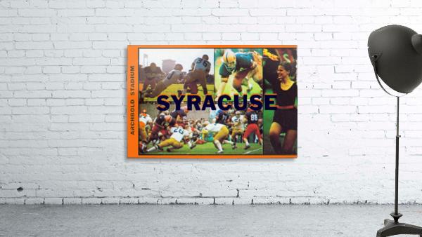 Vintage Syracuse Ticket Art