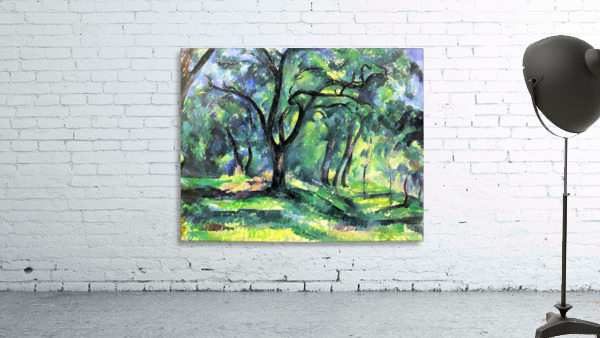 In the Woods by Cezanne