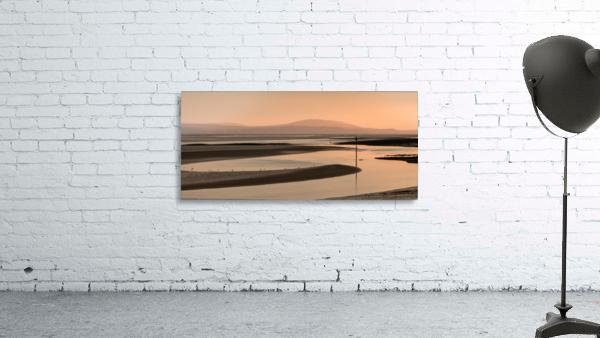 Loughor estuary at dusk
