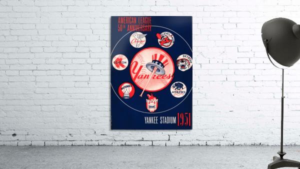 1951 new york yankees logo lon keller art