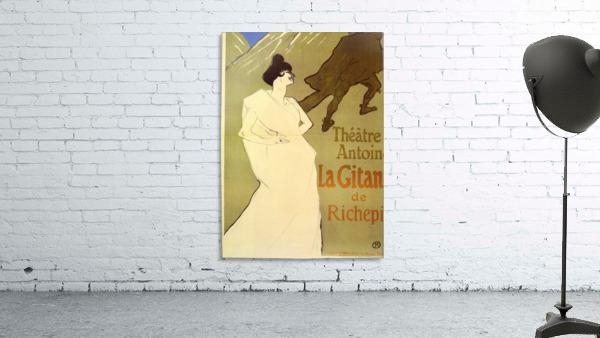 La Gitane de Rechepin by Toulouse-Lautrec