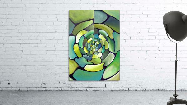 Art Deco_Green _Pattern_displate