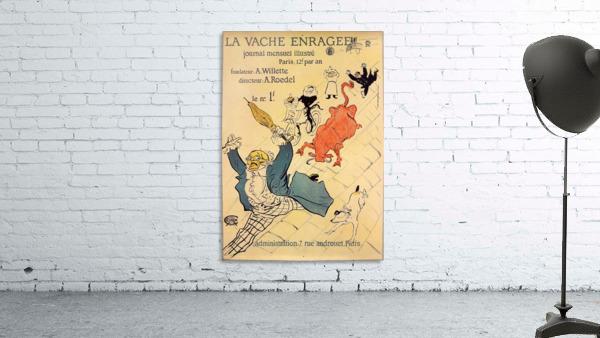 La vache enragee by Toulouse-Lautrec