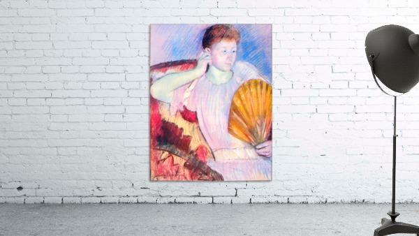 Lady with Fan by Cassatt