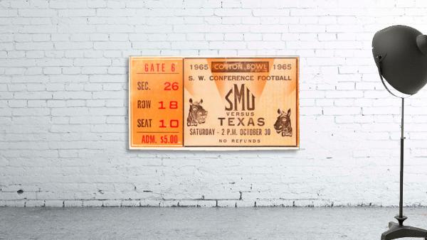 1965 texas longhorns smu mustangs college football