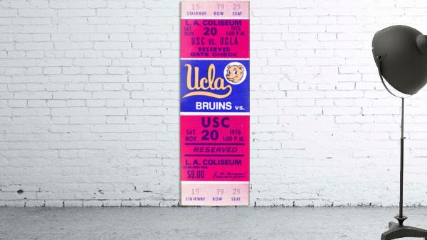 1976 college football usc ucla ticket stub