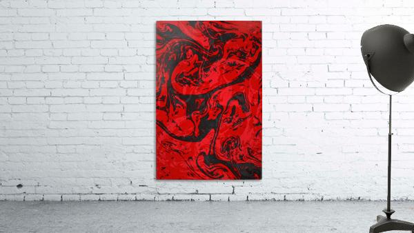 Black & Red Marble II