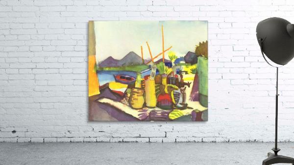 Landscape at Hammamet by Macke