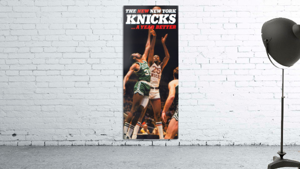 1980 new york knicks poster bill cartwright cedric maxwell