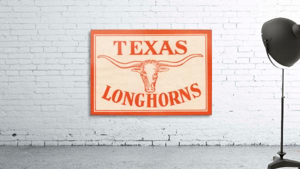 vintage texas longhorns metal sign best college signs