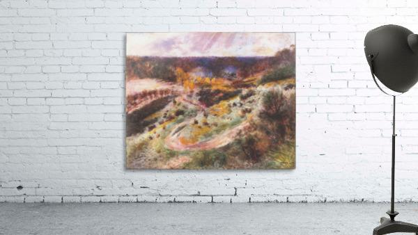 Landscape in Wargemont by Renoir