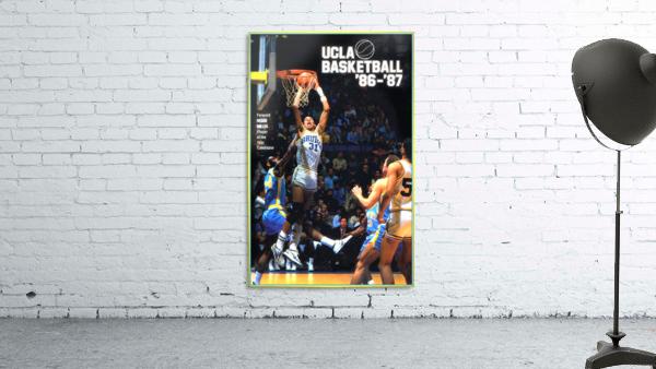1986 ucla basketball reggie miller poster