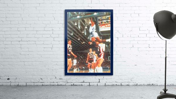 1984 johnny dawkins duke basketball dunk poster (1)