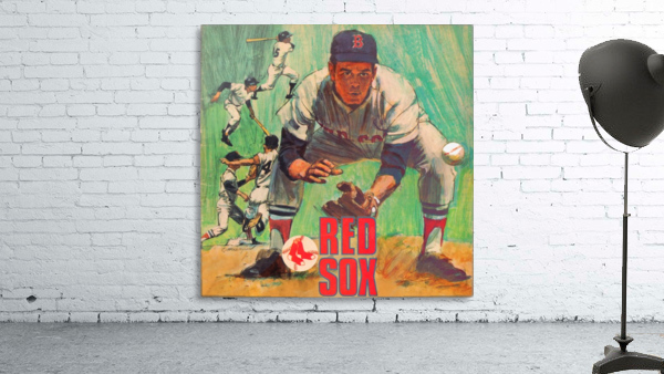 vintage boston red sox best metal sports signs for the garage