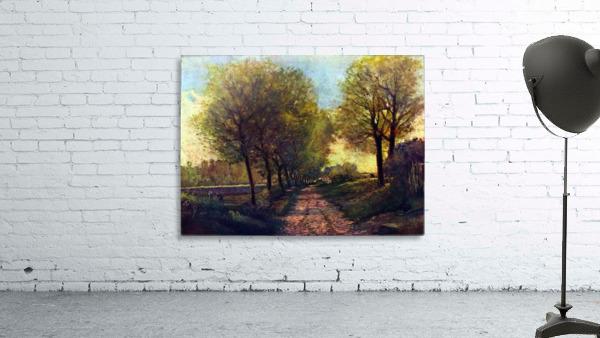 Lane near a small Town by Sisley